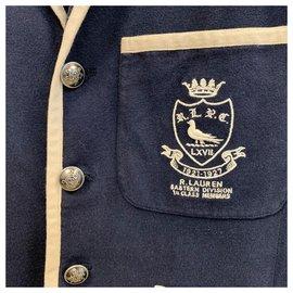 Polo Ralph Lauren-Blazer d'université d'université-Bleu Marine