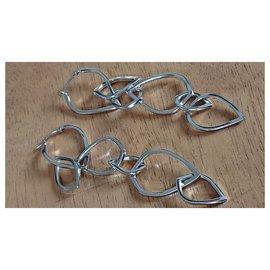 Kenzo-Earrings-Silvery