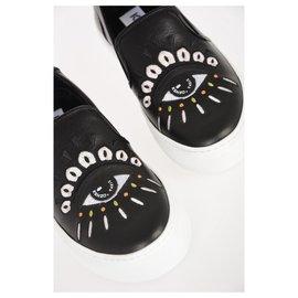 Kenzo-Kenzo chaussures nouveau-Noir
