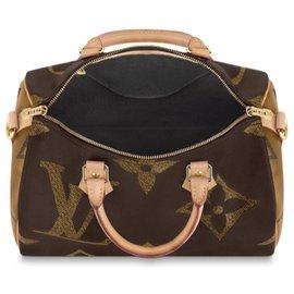 Louis Vuitton-Louis Vuitton Speedy Giant-Marron