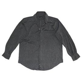 Versace-Camisas-Cinza