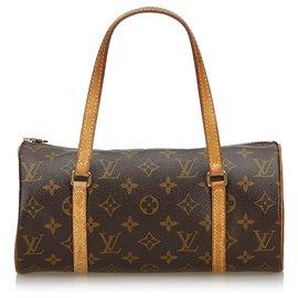 Louis Vuitton-Papillon Louis Vuitton Monogram Marron 26-Marron