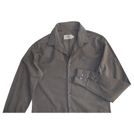Thomas Burberry-Shirts-Grey