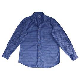 Burberry-Camisas-Azul
