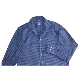 Burberry-chemises-Bleu