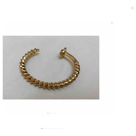 Autre Marque-Screw Cuff bracelet-Golden