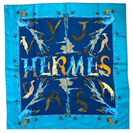 Hermès-ALPHABET III-Blue