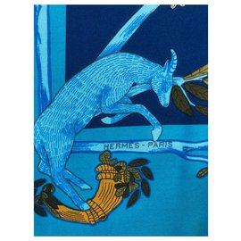 Hermès-ALPHABET III-Bleu