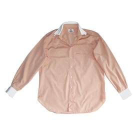 Brioni-Shirts-Orange