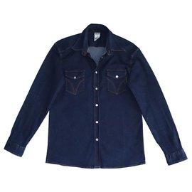 Dolce & Gabbana-Shirts-Blue