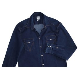 Dolce & Gabbana-Camisas-Azul