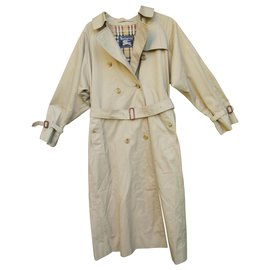 Burberry-vintage Burberry trench 38/40-Beige