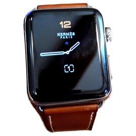 Hermès-Apple Watch Série 2-Argenté