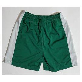 Autre Marque-Calções campeão-Branco,Verde