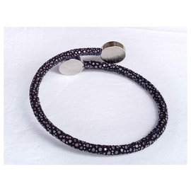 Autre Marque-Blue stingray bracelet-Blue