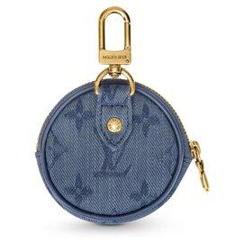 Louis Vuitton-Bijou de sac Louis Vuitton-Bleu
