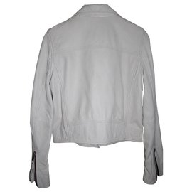 Isabel Marant Etoile-Biker jackets-White,Eggshell