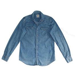 Acne-Camisas-Azul
