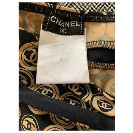Chanel-Jupe-Caramel
