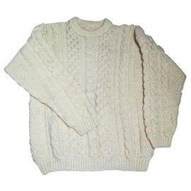 Autre Marque-Irish sweater-Cream