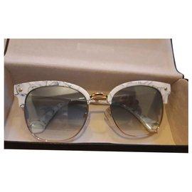 Balenciaga-Balenciaga sunglasses-White
