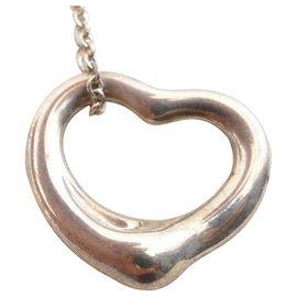 Autre Marque-TIFFANY & CO. Open Heart-Silvery
