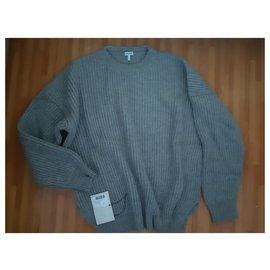 Loewe-Knitwear-Grey