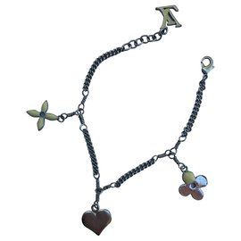 Louis Vuitton-Bracelet Sweet Monogram Argenté-Argenté