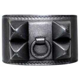 Hermès-Hermes Black Shadow CDC bracelet-Black
