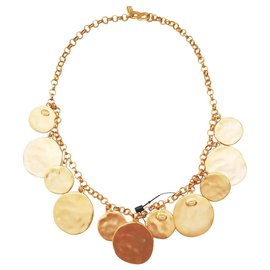 Kenneth Jay Lane-Necklaces-Golden