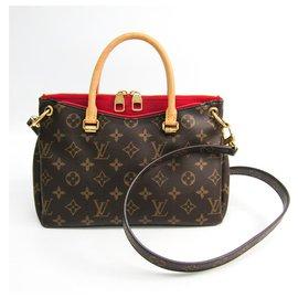 Louis Vuitton-Louis Vuitton Brown Monogram Pallas BB-Marron