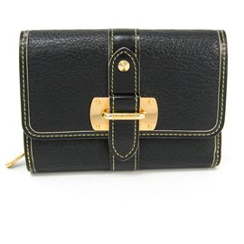 Louis Vuitton-Louis Vuitton Black Suhali Le Somptueux-Black,Golden