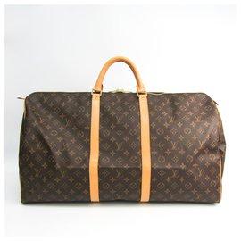Louis Vuitton-Keepall Louis Vuitton Brown Monogram Femmes-Marron