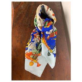Hermès-Umbrellas and umbrellas-Blue