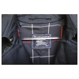 Burberry-Burberry Trench Vintage Navy Blue T 42 Mint condition-Navy blue