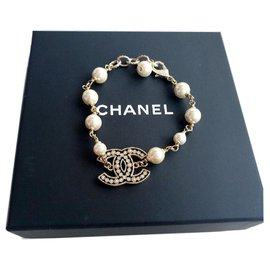 Chanel-Chanel pearl bracelet-Other