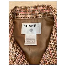 Chanel-Blazer-Pink,Beige,Caramel