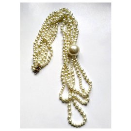 Kenneth Jay Lane-Necklaces-White