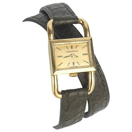 Jaeger Lecoultre-Jaeger Lecoultre Stirrup (footing) In yellow gold-Golden,Khaki