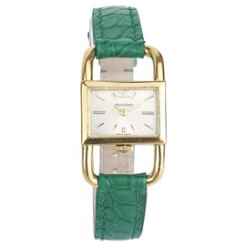 Jaeger Lecoultre-Jaeger Lecoultre Stirrup (footing) In yellow gold-Golden,Green
