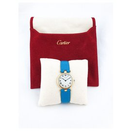 Cartier-Cartier Vendôme in yellow gold-Golden,Turquoise
