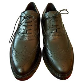 Burberry-Oxford shoes-Black