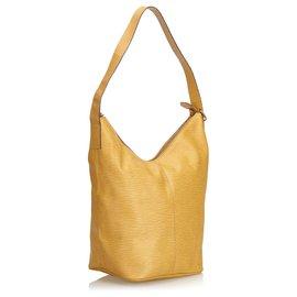 Fendi-Fendi Brown Leather Shoulder Bag-Brown,Beige