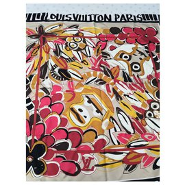 Louis Vuitton-Silk scarves-Multiple colors