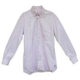 Autre Marque-Zilli shirt 42 immaculate condition-White,Purple