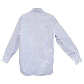 Autre Marque-Camisa Zilli 42 condição imaculada-Branco,Roxo