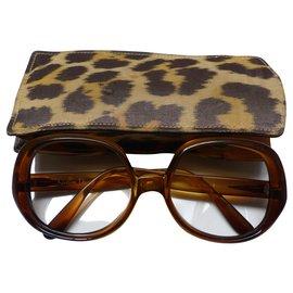 Christian Dior-Sunglasses-Caramel