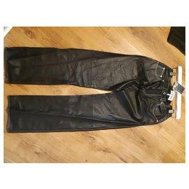 Loewe-Pants, leggings-Black