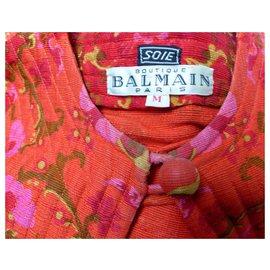 Balmain-Vintage silk kimono Balmain-Multiple colors
