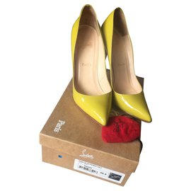 Christian Louboutin-Pigalle-Yellow